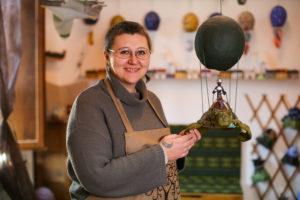 Albero del Bradipo: inaugurato al Vecchio Conventino il laboratorio di Mieke Verbert